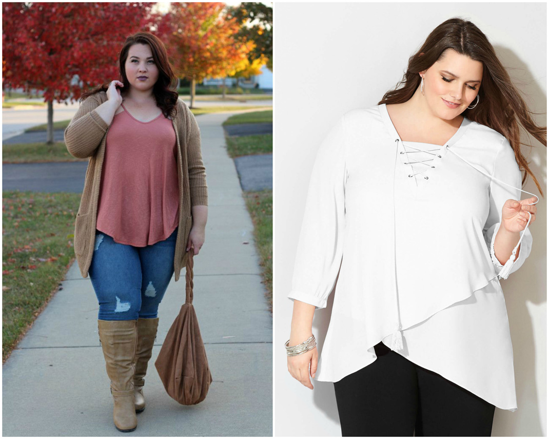 Tunics and skirts fashion | Plus size fashion for women