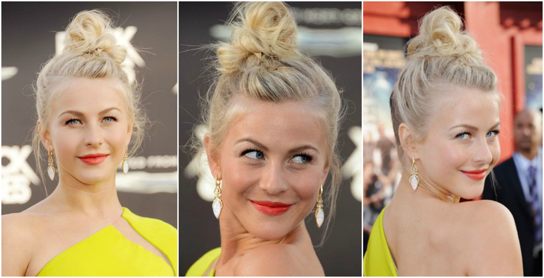 Undone top knot hairstyle | latest braided bun hairstyle