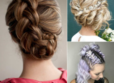 Latest Braided Bun Hairstyle