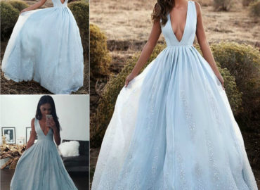 Sky Boho Maxi Dress