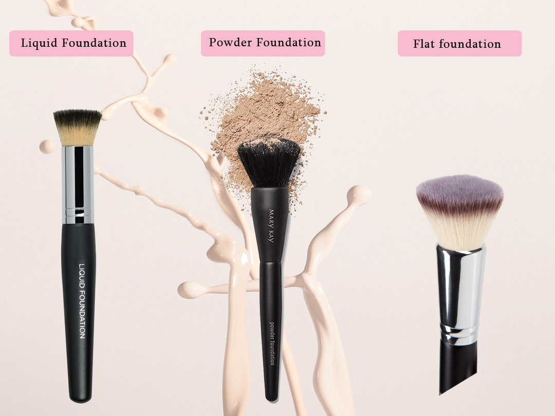 best brush to apply foundation