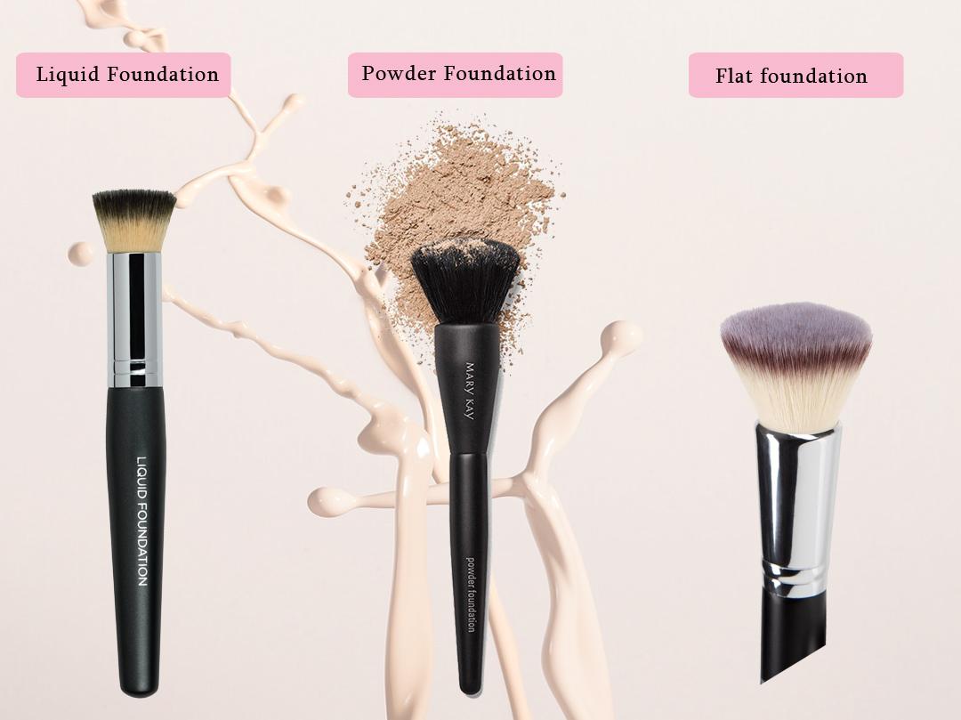 best brush to apply foundation