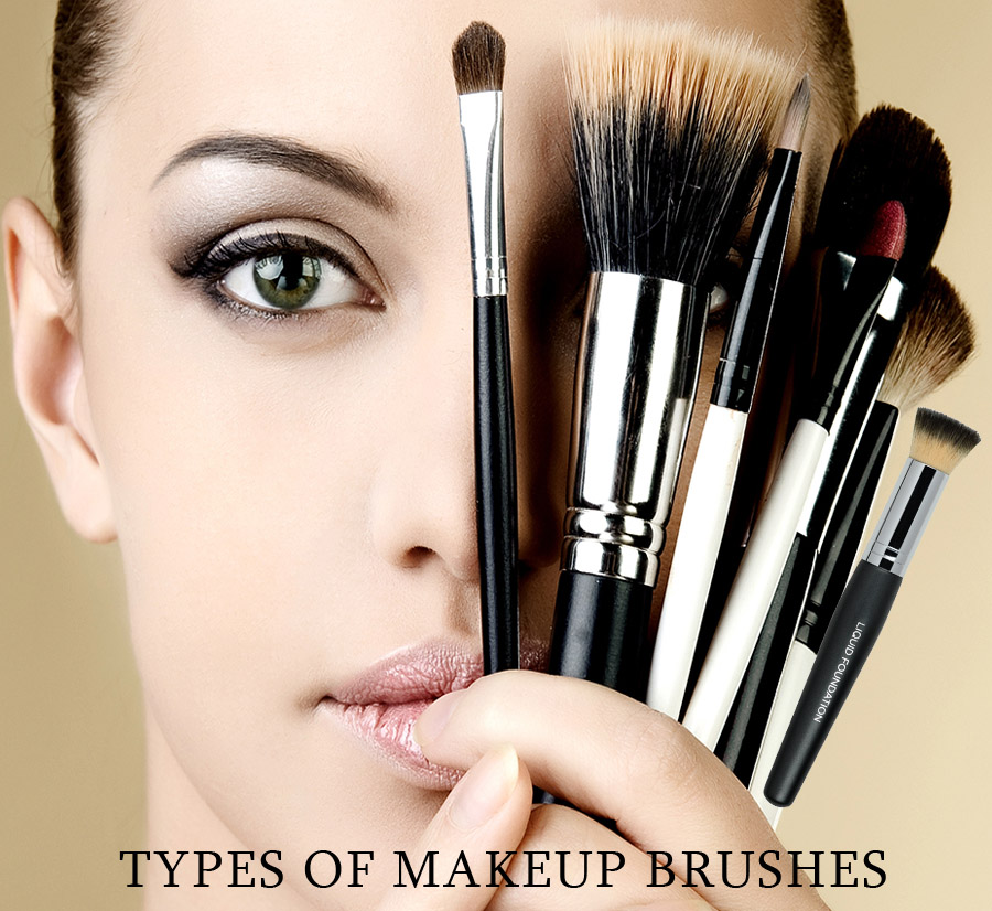 types of makeup brushes | professional makeup brushes