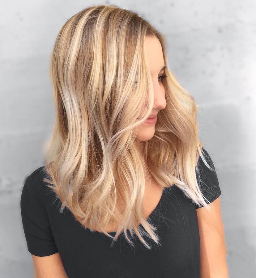 Bronze creamy blonde