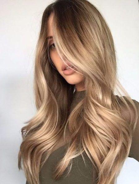 Brownish blonde Hair