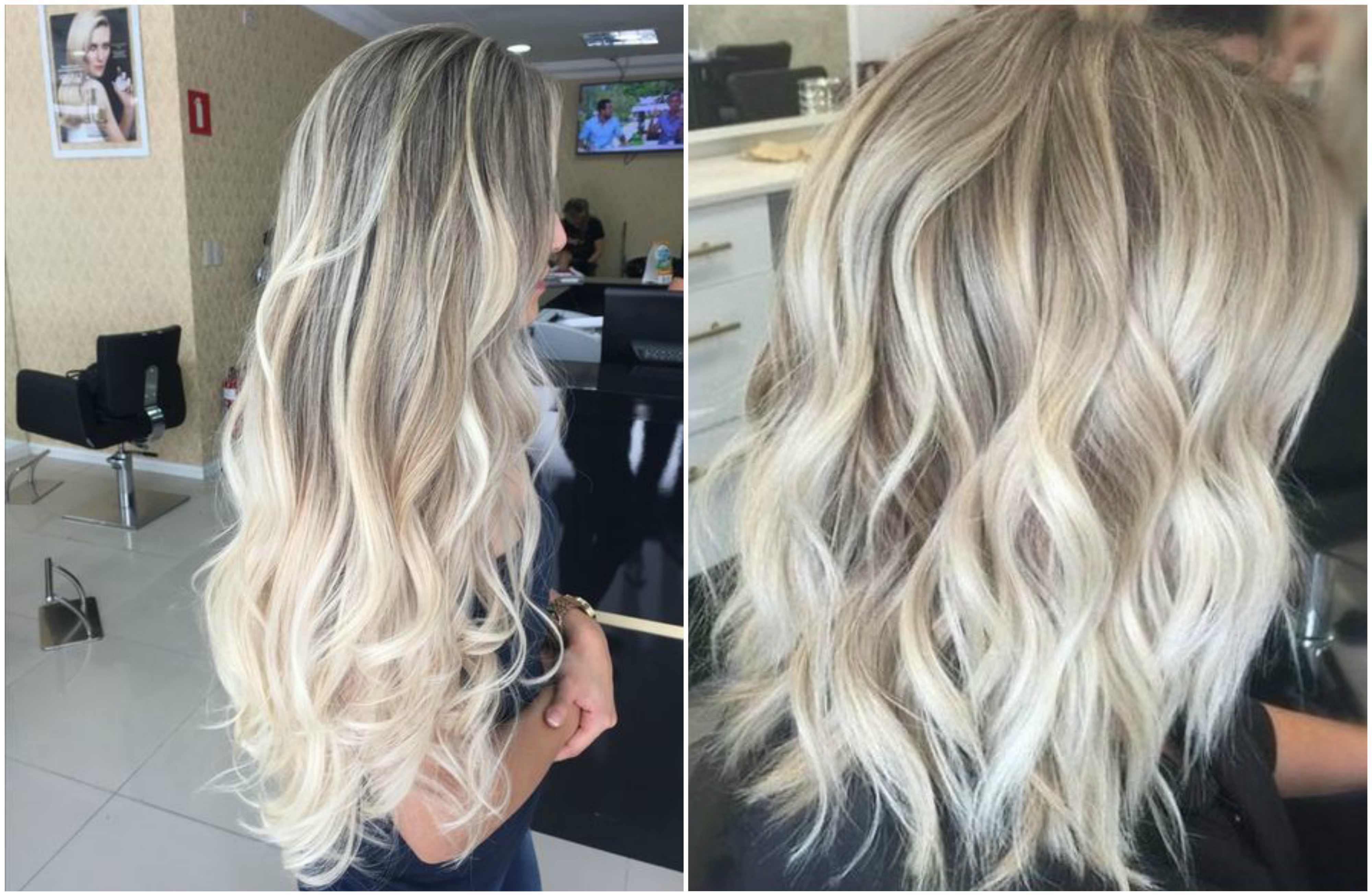Light Ash blonde hair color