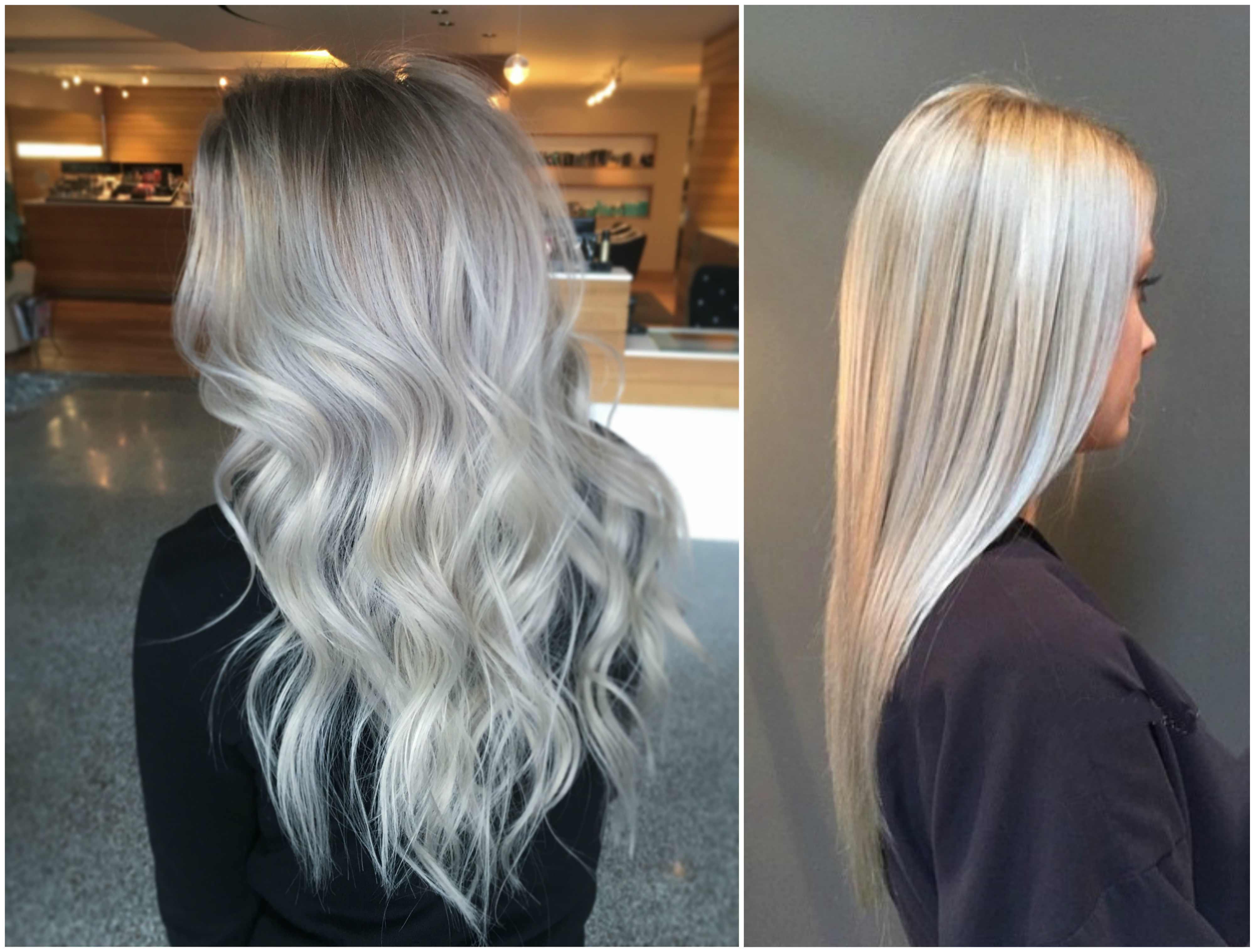 Silver blonde