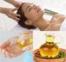 Apply castor oil for hair
