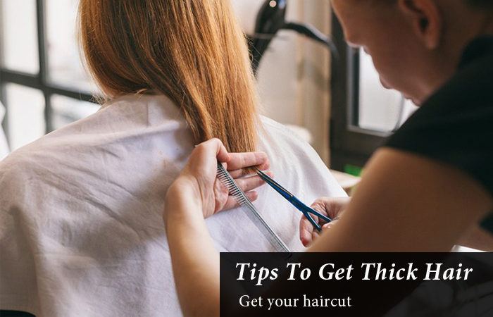 Tips To Get Thick Hair