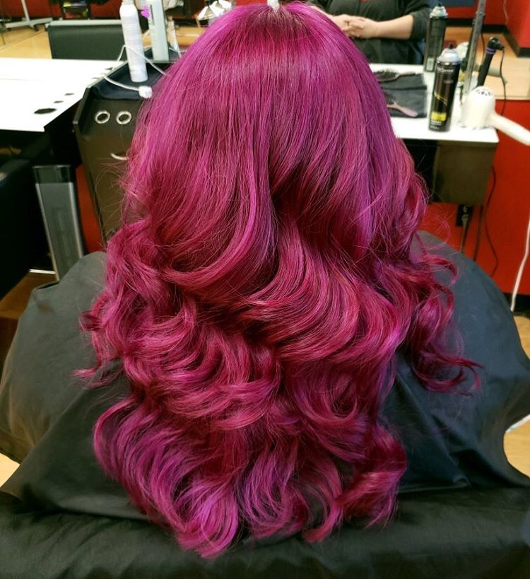 purple hair color ideas