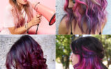Top 6 Ways to Use Purple Color to Make Statement Hair Looks