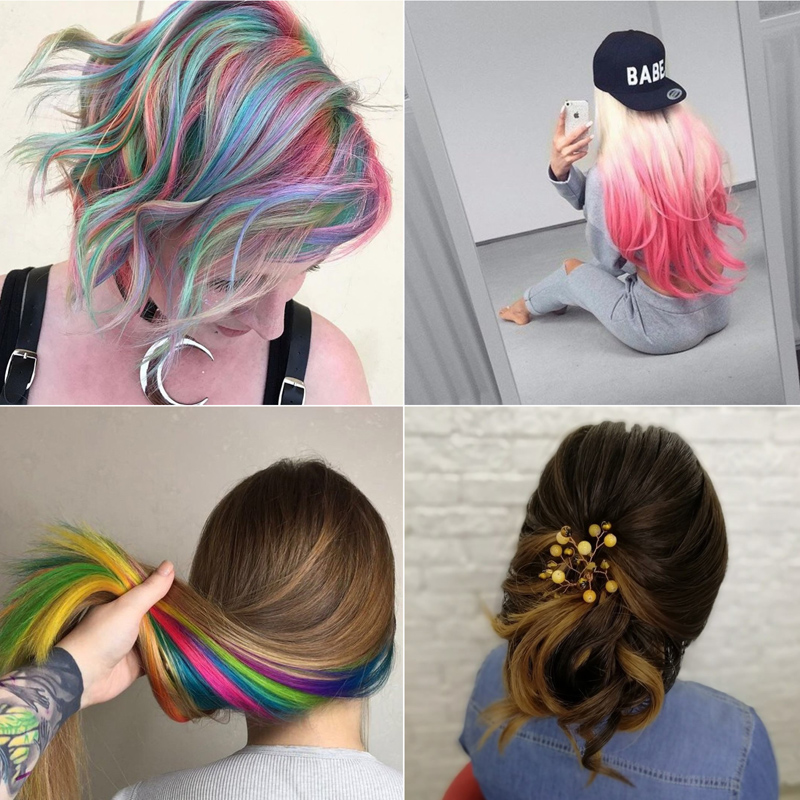 two-tone hair color ideas