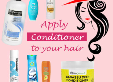 Apply Conditioner to Your Hair
