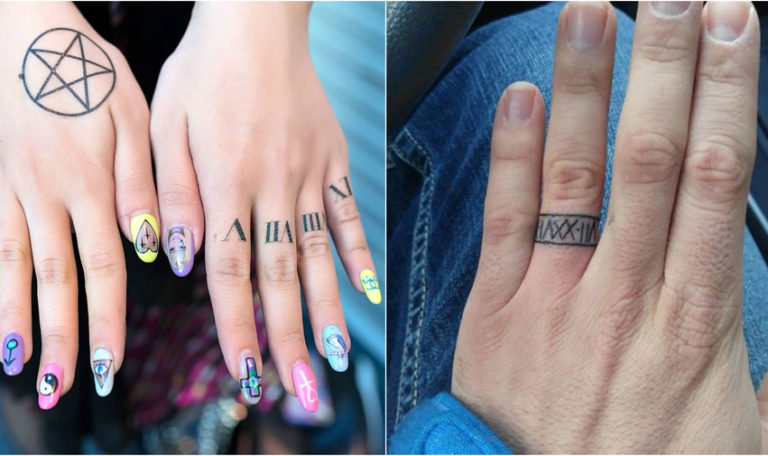 Roman Numerals Tattoo Designs