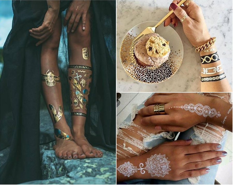 Best Metallic Tattoos