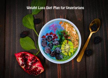 Weight Loss Diet Plan for Vegetarians