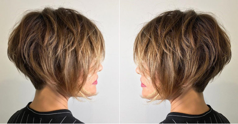 Messy Short Bob Hairstyles