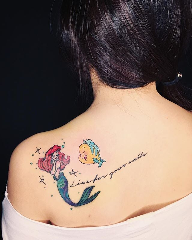 Stylish Mermaid Tattoo Designs | Beautiful Mermaid Tattoo Ideas