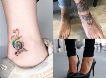 15 Trending Unique Foot Tattoos for Women and Girls