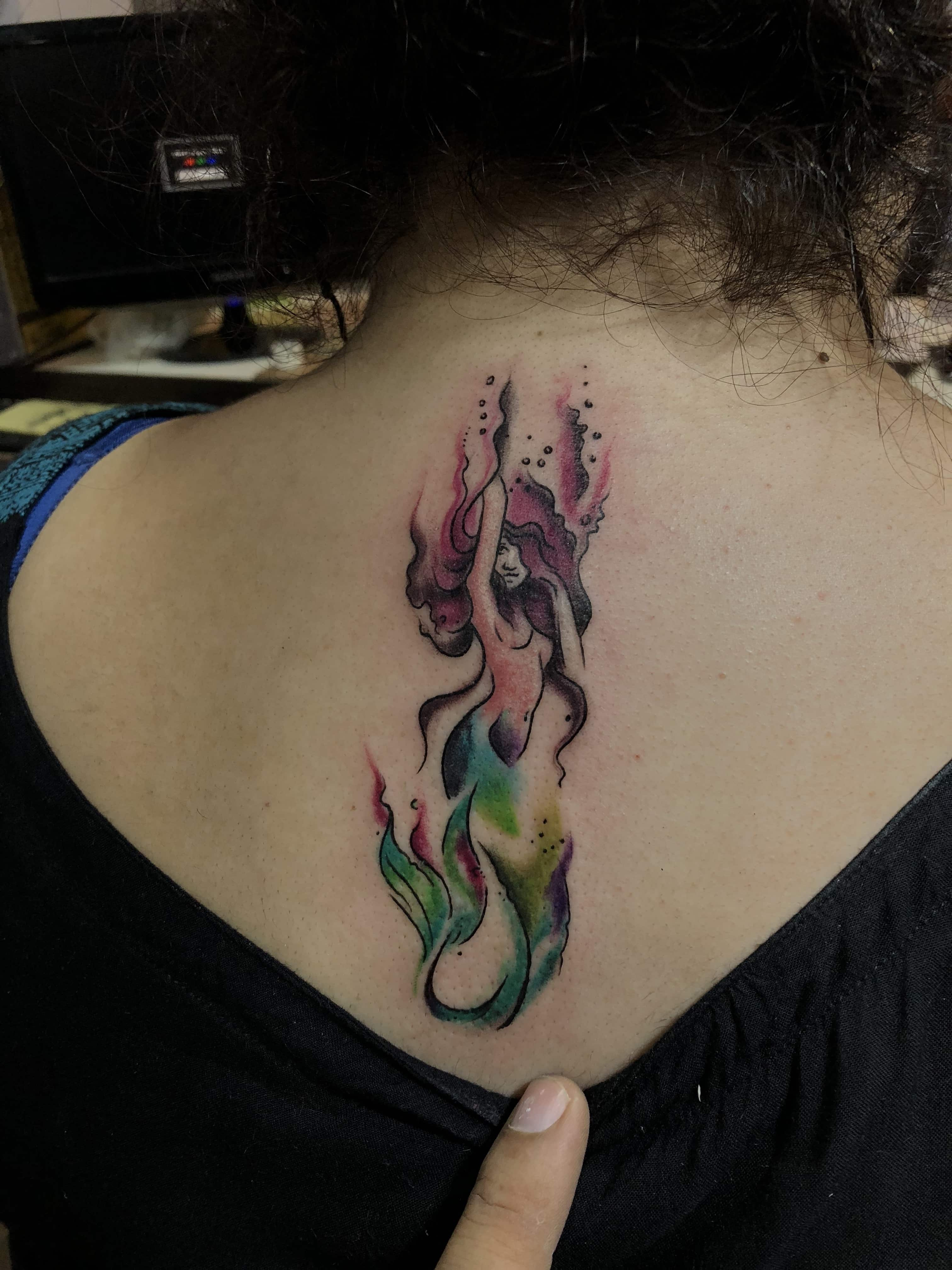 Best Mermaid tattoos | Stylish Mermaid Tattoo Designs
