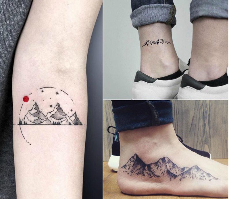 15 Best Mountain Tattoo Design Ideas