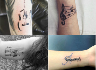 Get These Grand Musical Notes on Your Arms
