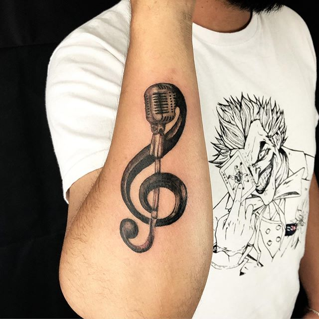 music tattoo design ideas