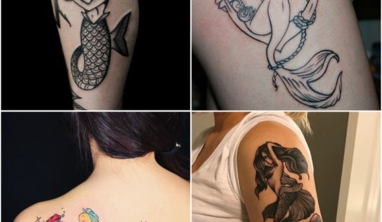15 Beautiful Mermaid Tattoo Ideas