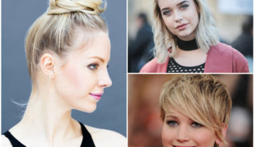 Top 15 Round Faces Hairstyle for Women and Girls
