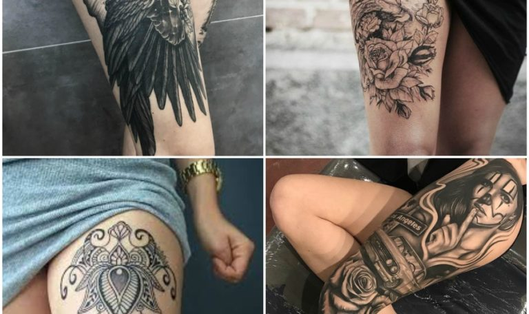15 Best Thigh Tattoo Design Ideas