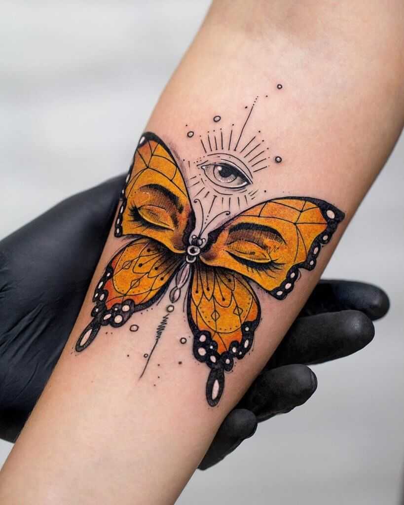 Butterfly Tattoo Design
