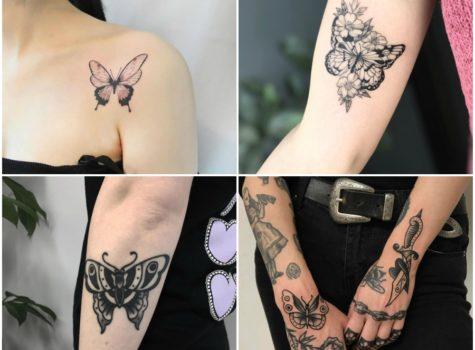 15 Trending Butterfly Tattoo Design Ideas for Females
