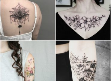 15 Beautiful Flower Tattoo Design Ideas