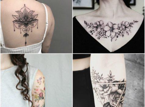 15 Beautiful Flower Tattoo Design Ideas