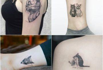 15 Best Cat Tattoo Design Ideas