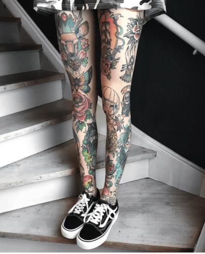Leg Tattoo Design Ideas