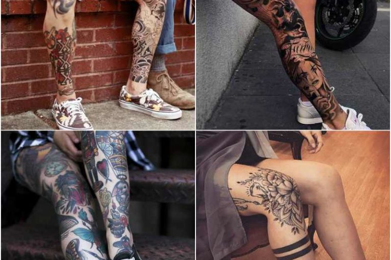 15 Best Leg Tattoo Design Ideas