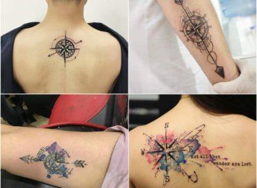 15 Best Compass Tattoo Design Ideas