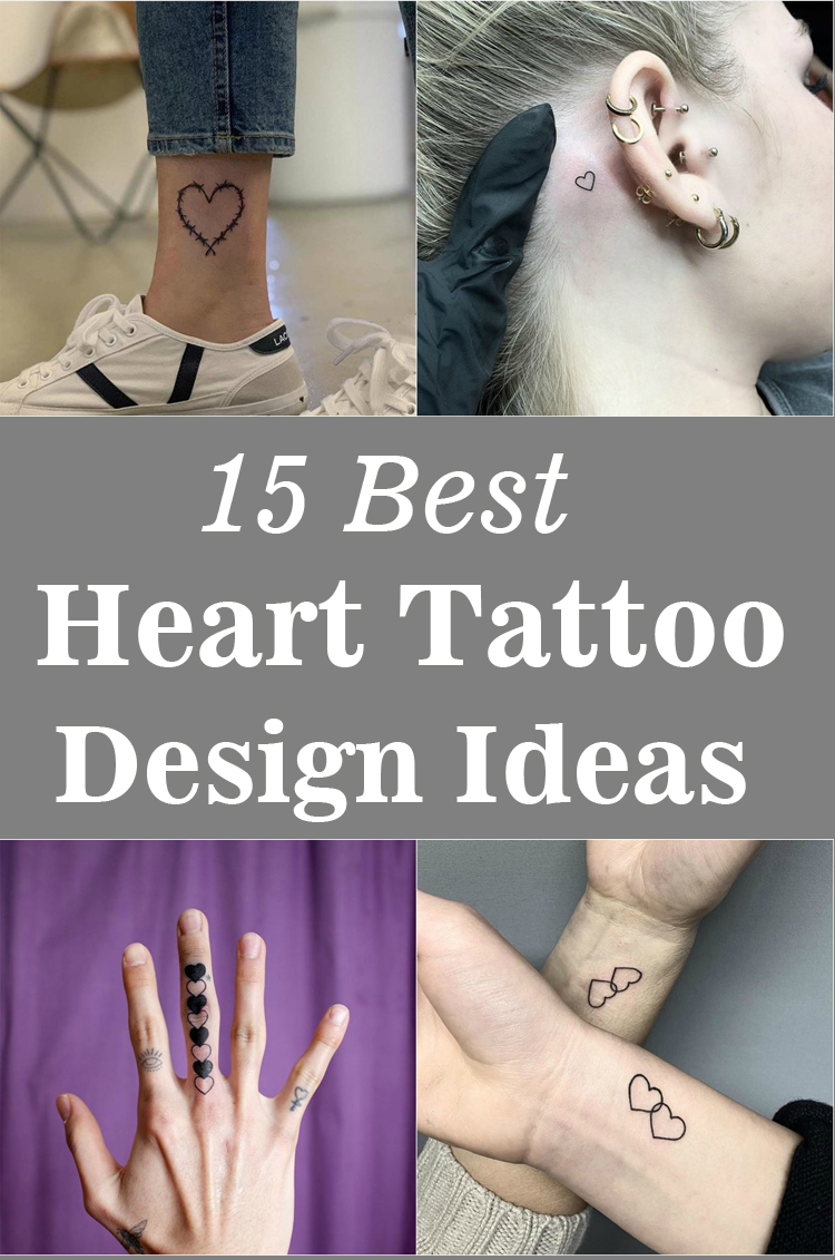 Best Heart Tattoo Design Ideas