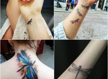 20 Dragonfly Tattoo Designs Ideas with Meaning