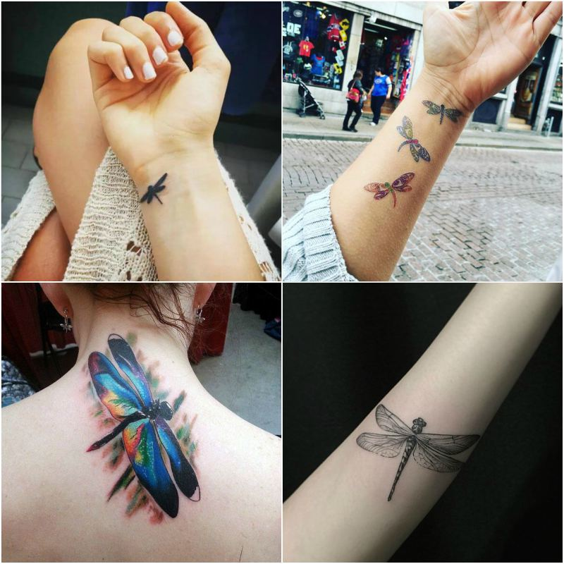 Dragonfly Tattoo Ideas | Top Beauty Magazines