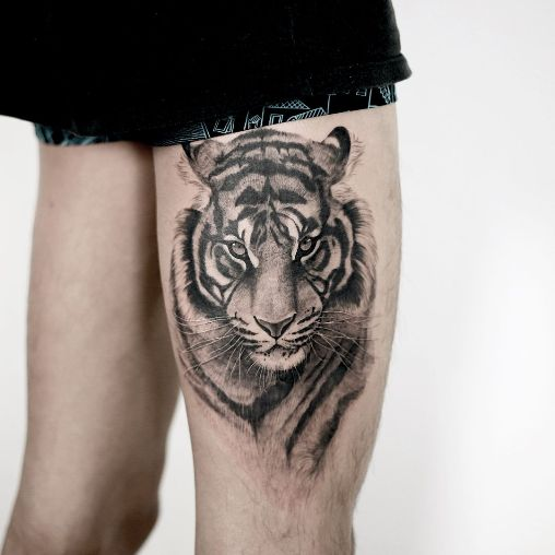 Tiger Tattoo Design Ideas