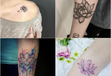Top 15 Lotus Tattoo Design Ideas