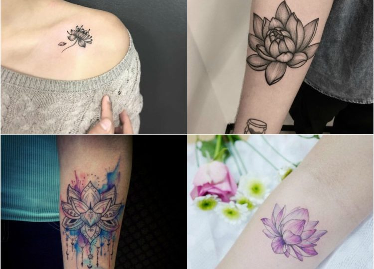 Top 15 Lotus Tattoo Design Ideas