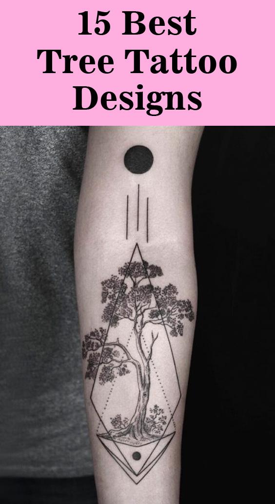 15 Best Tree Tattoo Designs