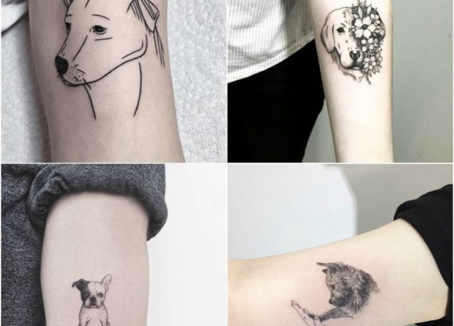 10 Adorable Dog Tattoo Design Ideas