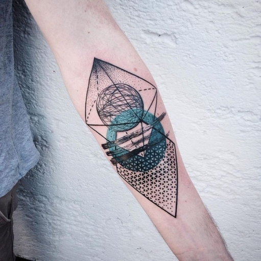 Geometric Tattoo Design