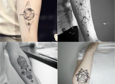 10 Best Unique Geometric Tattoo Design Idea