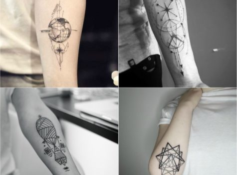 10 Best Unique Geometric Tattoo Design Idea