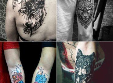 10 Coolest Wolf Tattoo Ideas